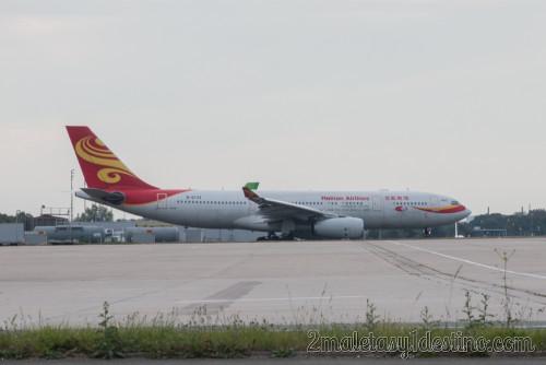 Airbus A330-243 (B-6133) Hainan Airlines