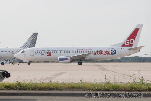 Boeing 737-49R (OM-GTB) Go2Sky Airline