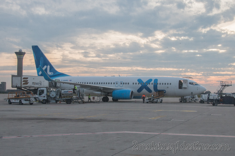 Boeing 737-8Q8(WL) (F-HAXL) XL Airways France
