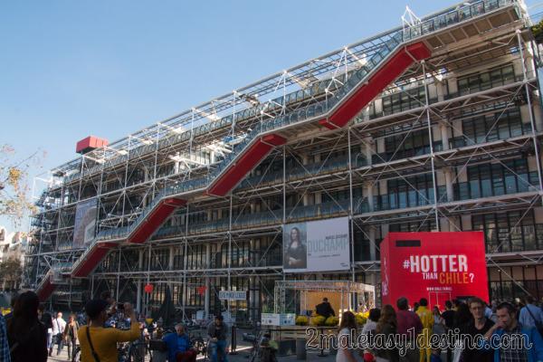 Centro Nacional de Arte y Cultura Georges Pompidou de París