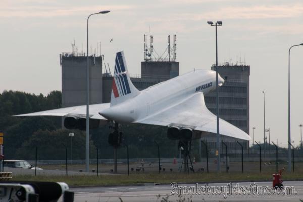 Concorde de exposicion Aeropuerto Charles de Gaulle