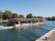 Crucero en barco por el Sena