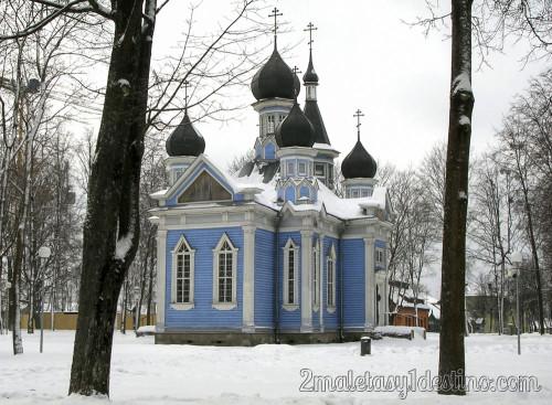 Iglesia de la alegria para todos los que sufren (Druskininkai)