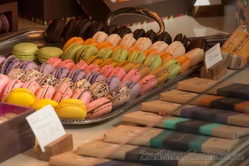 Macarons, galleta tradicional francesa