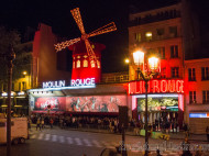 Moulin Rouge en Paris