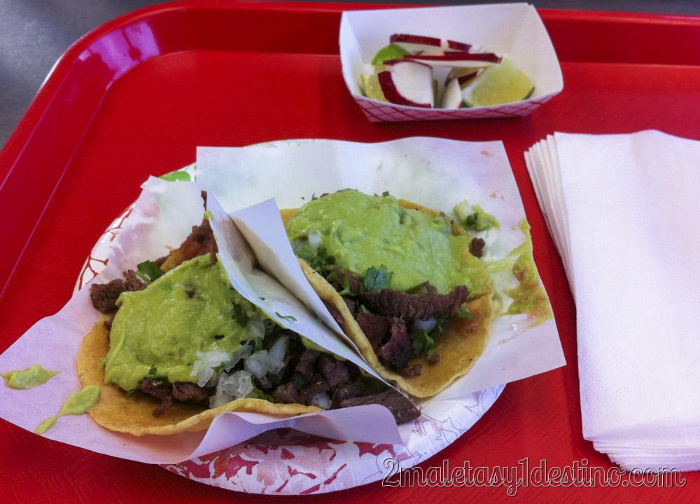 Tacos Asada
