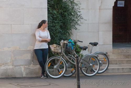 Bicis Vélib en París