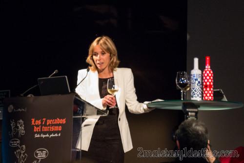 Estela Asenjo presentacion vinos