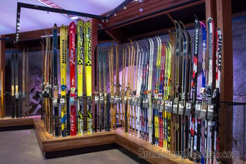 Evolución de los esquís