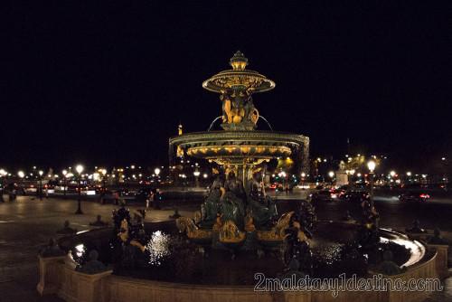 Fuente de los Mares - Plaza de la Concordia