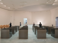 Guggenheim - Cajas de acero de Robert Morris