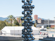 Guggenheim - El gran árbol y el ojo de Anish Kapoor