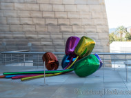 Guggenheim - Los Tulipanes de Jeff Koons 3