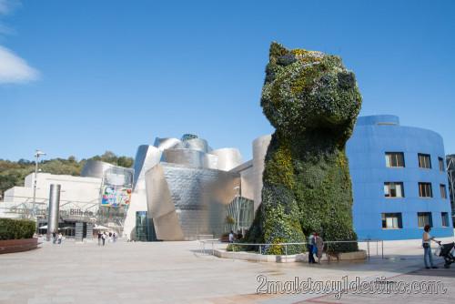 Guggenheim - Puppy de Jeff Koons 2