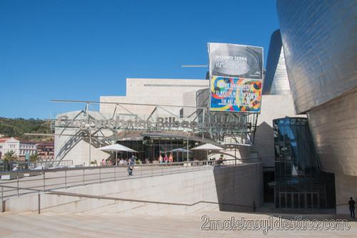 Guggenheim de Frank Gehry - exterior del edificio