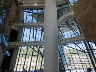Guggenheim de Frank Gehry - interior del edificio