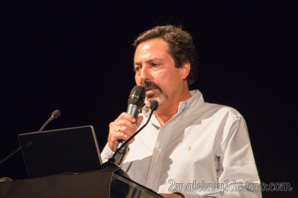 José Escribano en Turistopia