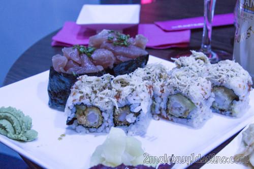 Maki Miami y Sushi Tartare de Atún