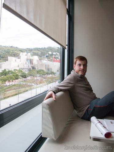 Miró Hotel Bilbao - Eguino y vistas al Guggenheim