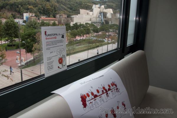 Miró Hotel Bilbao - Turistopía y vistas al Guggenheim
