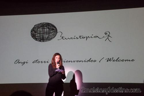 Natalia Zapatero presentación Turistopia