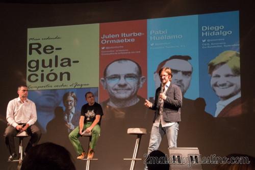 Patxi Huélamo, Julen Iturbe y Diego Hidalgo
