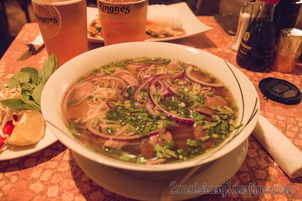 Sopa vietnamita Pho Bo/GA