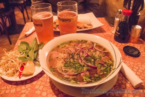 Pho Bo-GA sopa vietnamita