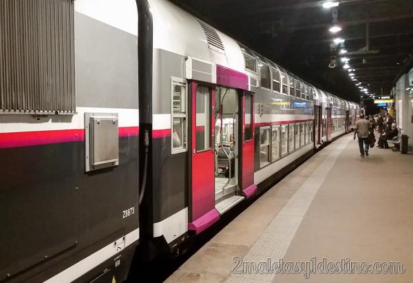 Tren RER París