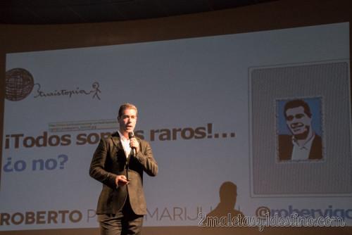Roberto Pérez en Turistopia