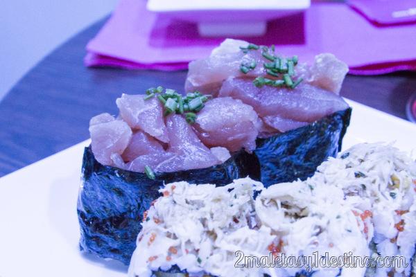 Sushi Tartare de Atún