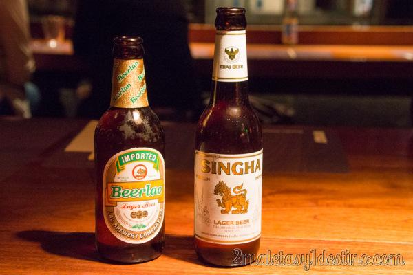 Beerlao y Shinga