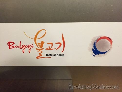 Bulgogi Taste of Korea