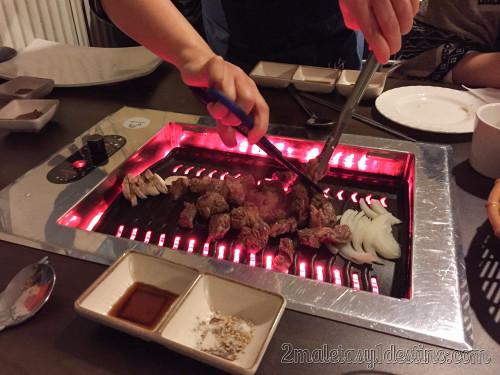 Parrilla coreana