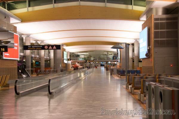 Pasillo Aeropuerto Oslo