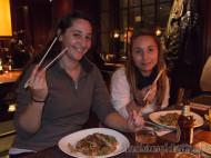 Vanina y Tamara en Busaba Eathai