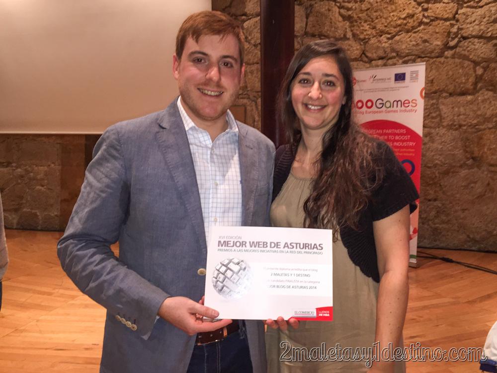 Eguino y Vanina mejor blog Asturias
