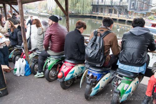 Asientos moto Camden