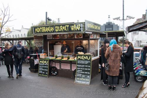 Comida mediterranea Camden Town