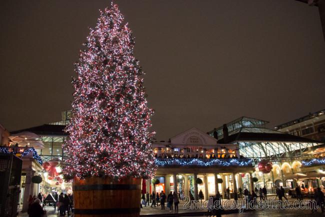 Covent Garden Market - Luces de Navidad
