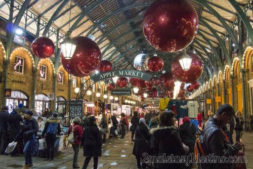 Decoración de Navidad ne Covent Garden