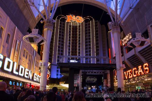 Hotel Plaza y escenario Fremont