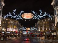 Iluminación Regent Street