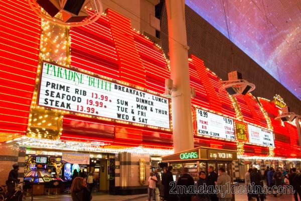 Paradise Buffet en Fremont Hotel & Casino