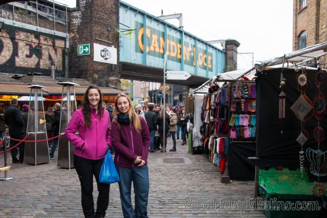 Vanina y Tamara en Camden Twon