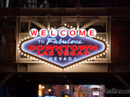 Welcome to Fabulous Downtown Las Vegas Nevada