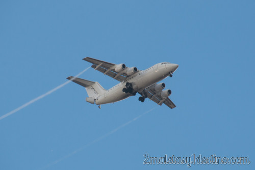 Avro RJ85 (EI-RJH) CityJet