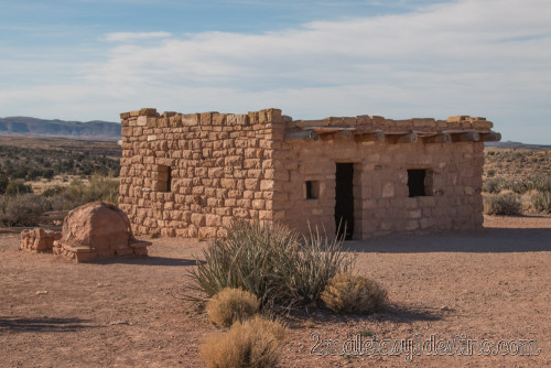 Casa de tribu India Hopi