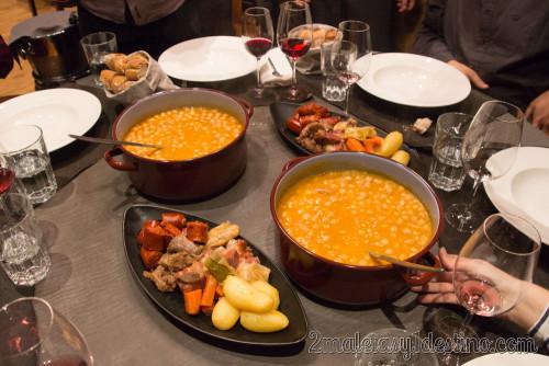 Cocido en Naguar Oviedo