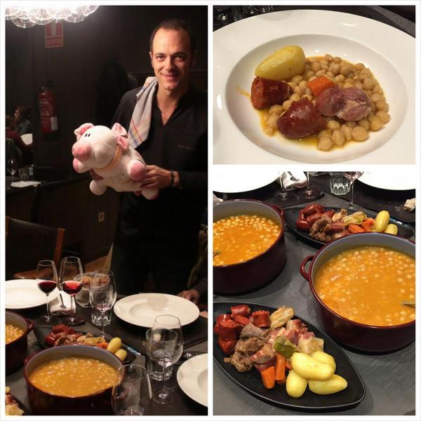 El #CocidoDay en Naguar con Pedro Martino - Asturias